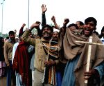 PAKISTAN LAHORE CHURCH TWIN BLASTS PROTEST
