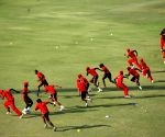 Lahore (Pakistan): Kenyan cricket team practice session