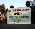 Lahore (Pakistan): Protest against killing of Christian couple in Pakistan