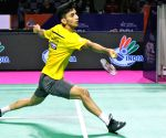 Lakshya out of SaarLorLux badminton after coach tests Covid+