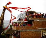 NEPAL LALITPUR FESTIVAL RATO MACHHENDRANATH