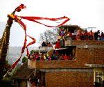 NEPAL LALITPUR FESTIVAL RATO MACHHENDRANATH