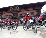 NEPAL-LALITPUR-WORLD REFUGEE DAY-CYCLE RALLY-RIDE FOR REFUGEES