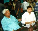 Lalu heaps praises on Tejashwi for his leadership skills