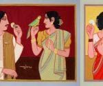 Lalu Prasad Shaw's NFT-certified works go on display