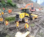 CHINA YUNNAN LANPING LANDSLIDE RESCUE