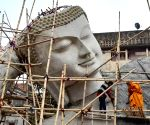 Free Photo: Largest lying Buddha of India.