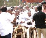 Dasari Narayana Rao - last rites