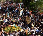 Martyr Sanjay Kumar Sinha's last rites