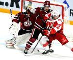 LATVIA-RIGA-ICE HOCKEY-KHL-RIGA DINAMO VS MOSCOW SPARTAK