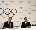 SWITZERLAND LAUSANNE IOC PRESS CONFERENCE