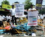 Lawyers demonstration against Madras High Court