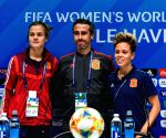FRANCE-LE HAVRE-2019 FIFA WOMEN'S WORLD CUP-GROUP B-ESP-OFFICIAL PRESS CONFERENCE