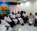 Leaders of Telangana Employees Association met BJP State President