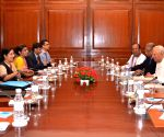 TNA leaders meet Sushma Swaraj