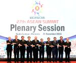 MALAYSIA ASEAN SUMMIT PLENARY SESSION