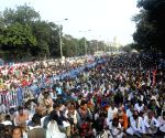 Left-Cong to hold mega rally at Kolkata's brigade ground tomorrow