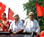 Election campaign - Biman Bose
