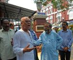 Left leaders submitted a deputation at Lalbazar