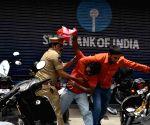 Telangana exam goof-up - Police detains protestors