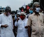 Left, Congress launch 'Maha Michil' against the Central Government over Farm Bills 2020