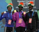 Standard Chartered Mumbai Marathon 2016 - Winners