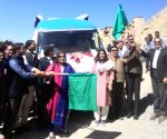 Leh's first Mobile Science Exhibition van flagged off