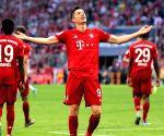 Lewandowski equals legend Muller's 40-goal record