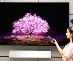 LG Electronics launches world's first 83-inch OLED TV