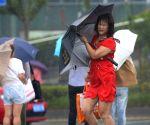 CHINA JIANGSU LIANYUNGANG TYPHOON AMPIL RAIN