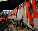Three injured after train derails near Kanpur