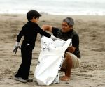 PERU-LIMA-WORLD OCEANS DAY-BEACH CLEANUP