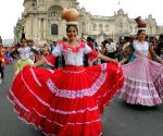PERU LIMA SOCIETY PARADE