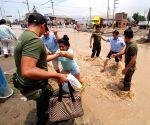 PERU LIMA ENVIRONMENT FLOOD