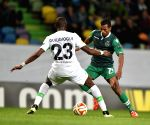 (SP)PORTUGAL LISBON FOOTBALL UEFA EUROPA LEAGUE SPORTING WOLFSBURG