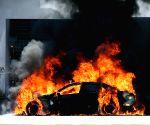 High drama in Mathura as man sets car ablaze, fires in air