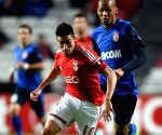 Champions League Group C soccer match Monaco v/s Benfica