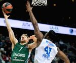 LITHUANIA KAUNAS BASKETBALL EUROLEAGUE