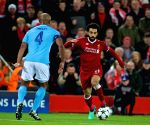 BRITAIN-LIVERPOOL-SOCCER-UEFA CHAMPIONS LEAGUE-LIVERPOOL VS MANCHESTER CITY