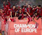BRITAIN-LIVERPOOL-FOOTBALL-UEFA CHAMPIONS LEAGUE-LIVERPOOL TROPHY PARADE