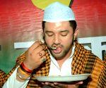 Patna: Chirag Paswan at iftar party