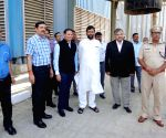 Ramvilas Paswan during an official visit to Silos