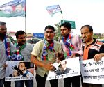 LJP's demonstration against Azam Khan
