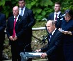 SLOVENIA RUSSIA PRESIDENTS CHAPEL ANNIVERSARY