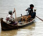 MYANMAR SAGAING REGION MAGWAY REGION FLOOD