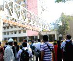 Mumbai footbridge collapse site