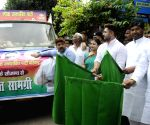 Relief material released for flood victims - Pashupati Kumar Paras, Chirag Paswan