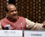Om Birla's press conference