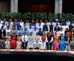 Lok Sabha Speaker meets 2017 batch IAS Officers