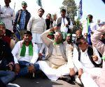Bihar strike - LJD protest